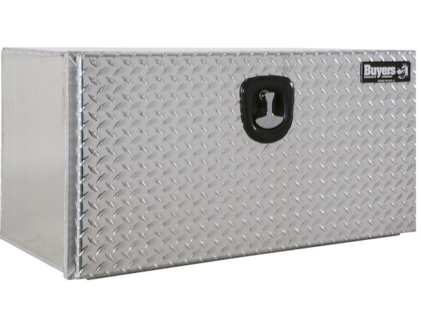 XD Smooth Aluminum Underbody Truck Box with Diamond Tread Door
