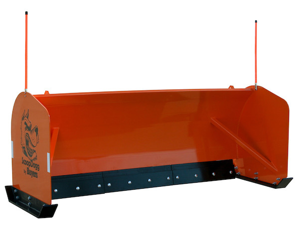 ScoopDogg™ Skid Steer Snow Pusher with Trip Edge