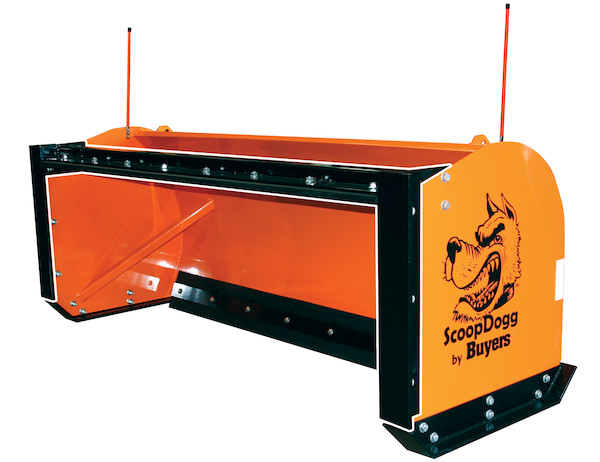 ScoopDogg™ Back Drag Kit for Skid Steer Snow Pusher