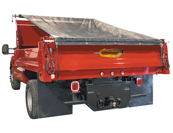 DTR Dump Tarp Kits for Pre-Drilled Cab Guards