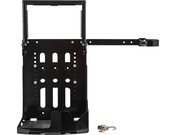 Universal Backpack Blower Rack for Open and Enclosed Landscape Trailers