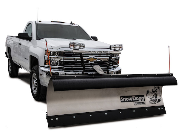 TE80_2016 Chevy 2500 snowdogg™ snow plows buyers products SnowDogg Plow Wiring Diagram at bayanpartner.co