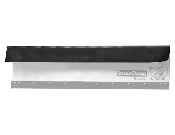 Rubber Deflectors for SnowDogg® Straight Blade Plows