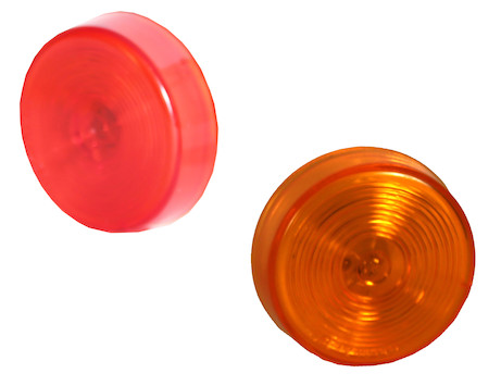 2.5 Inch Round Incandescent Marker Clearance Light