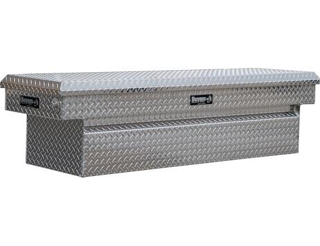 Diamond Tread Aluminum Crossover Truck Tool Box Series