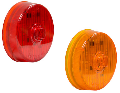 2.5 Inch Round Marker/Clearance Light with 7 LEDs
