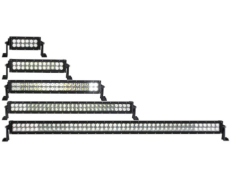 Ultra Bright Straight Double Row LED Combination Spot-Flood Light Bar Series
