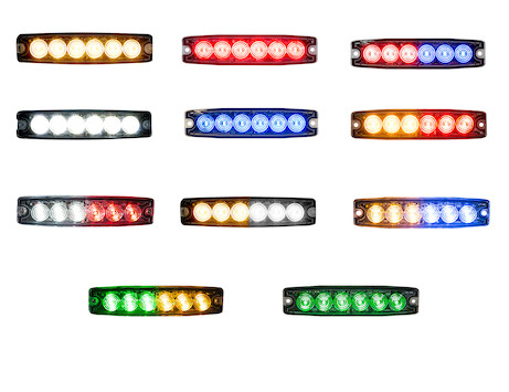 Ultra Thin 5 Inch LED Strobe Light Series