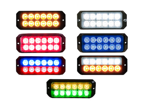 5.19 Inch Rectangular LED Strobe Light Series