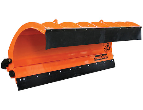 SnowDogg™ 42 Inch Trip Edge Stainless Municipal Plow Assembly