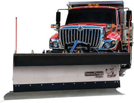 SnowDogg™ 42 Inch Full Trip Stainless Municipal Plow Assembly