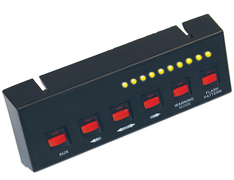 Six Switch Panel for Modular Light Bars