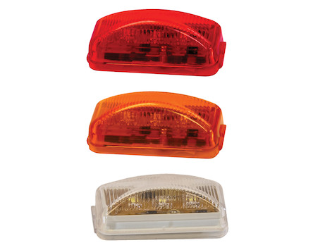 2.5 Inch Surface Mount Marker Light with 3 LEDs