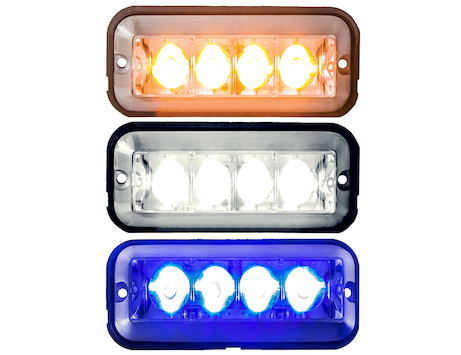 Raised 5 Inch LED Strobe Light Series