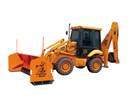 ScoopDogg™ Backhoe Snow Pusher