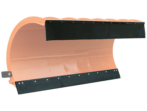 SnowDogg™ Belted Rubber Municipal Plow Deflector Kit