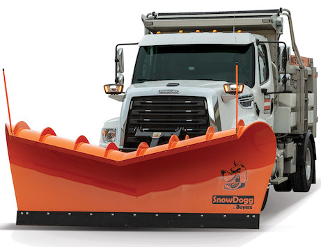SnowDogg® Expressway Municipal Snow Plow - Carbon Steel Blade with Trip Edge