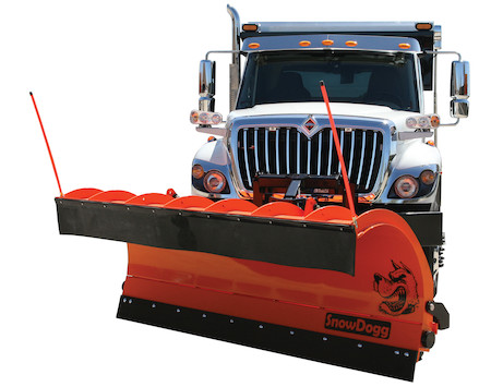 SnowDogg® 42 Inch Full Trip Steel Municipal Plow Assembly