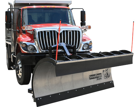 SnowDogg™ 36 Inch Full Trip Stainless Municipal Plow Assembly