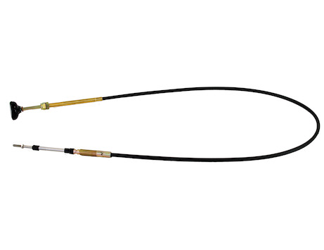 R38DR Series Control Cable with 3 Inch Travel and Rod End Control