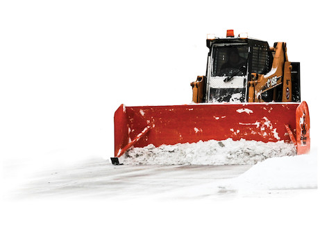 ScoopDogg™ Skid Steer Snow Pusher