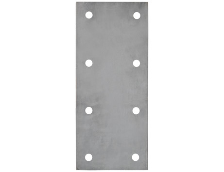 Trailer Nose Plate for Mounting Drawbar