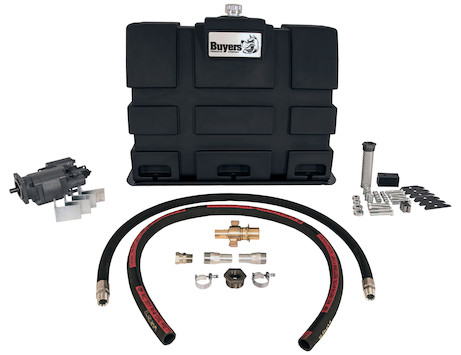 Upright Reservoir/Direct Mount Pump Wetline Kit